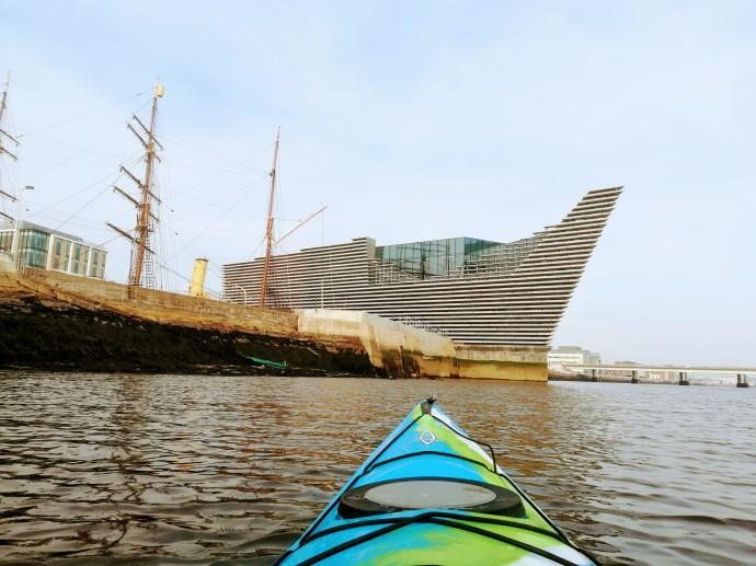 Kayaking in Dundee